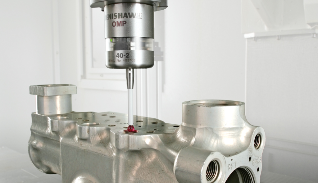 Productivity+ is a probe programming add-on for Mastercam that works only with Renishaw probes.